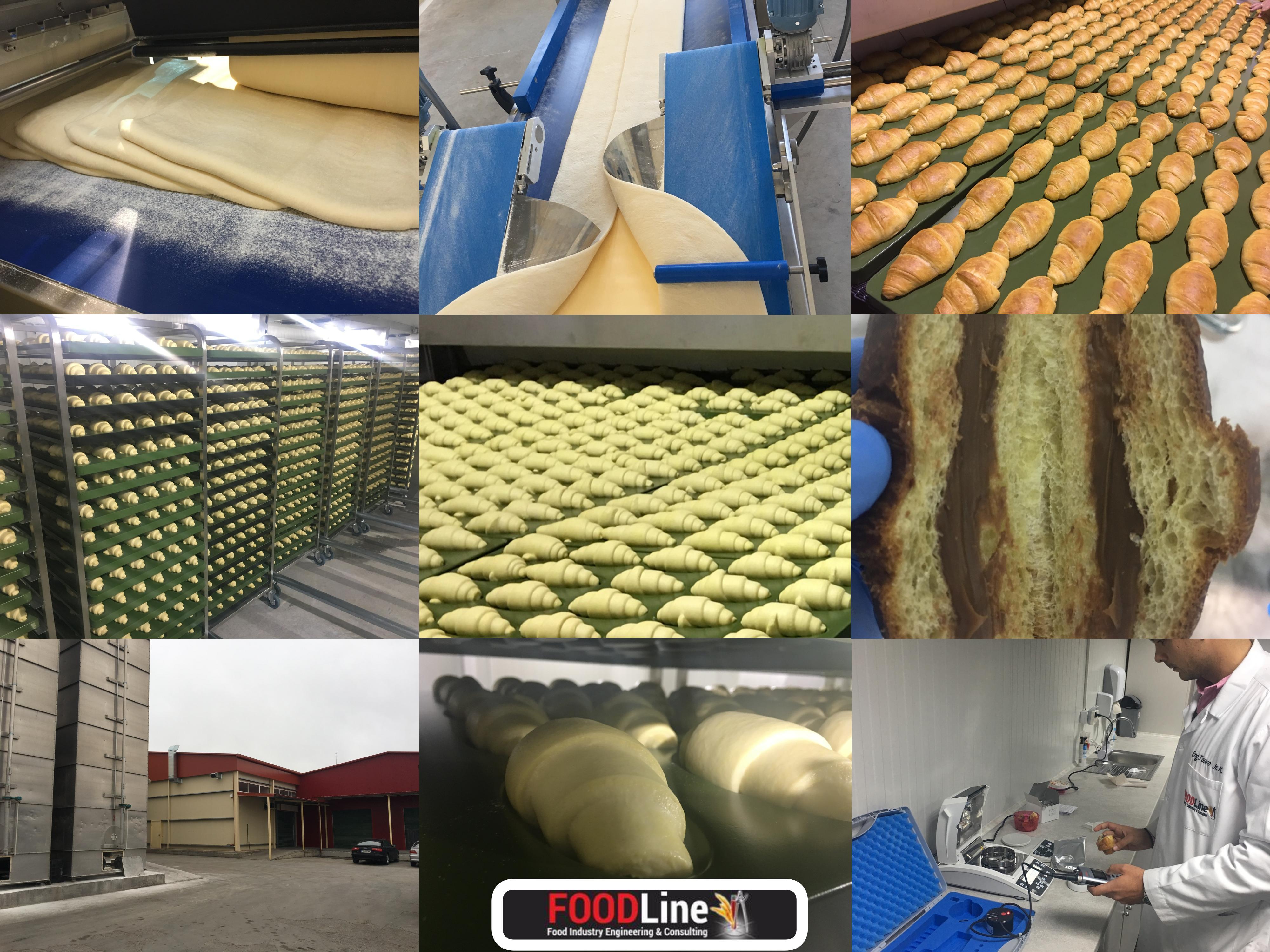 Recent Croissant project -FOODLine Co.