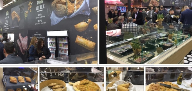 Launch of frozen dough project. FOODEXPO 2018. Creta Farms